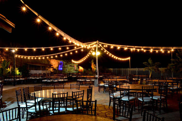 Lighting for Outdoor Weddings