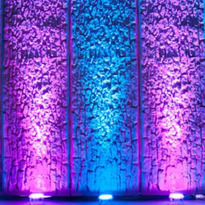 LED-uplights-wall  sc 1 st  Seattle Event Lighting & Rent Wireless Uplights for $25 - Seattle Event Lighting azcodes.com