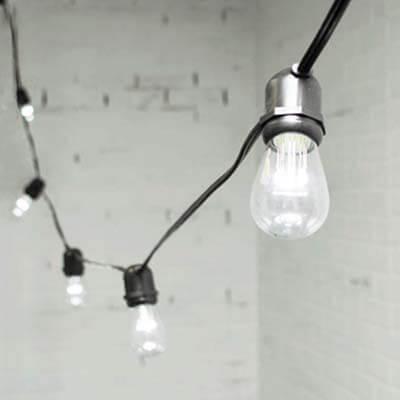 Rent LED Edison String Lights Seattle Event Lighting