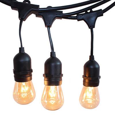 String Lights Rental Nj : Rent Edison String Lights Seattle Event Lighting