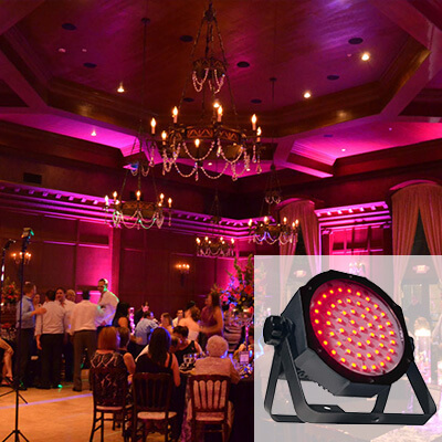 rent wireless uplights for 25 seattle event lighting
