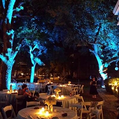 Rent outdoor uplights for 22 seattle event lighting outdoor uplighting rental aloadofball Choice Image
