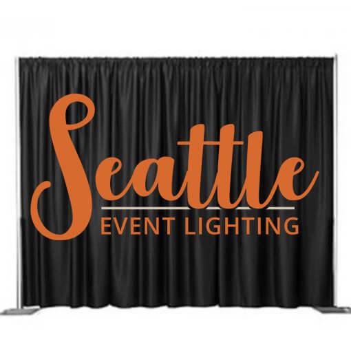 Pipe And Drape Diy Rental Seattle Event Lighting